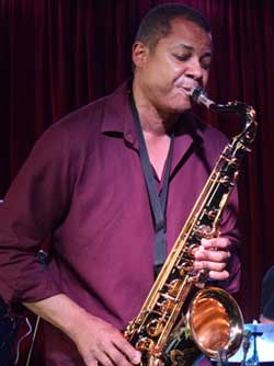 Oscar Polk, saxophone